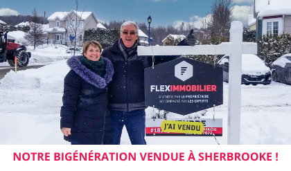 Maison vendue satisfaction client Achat local Flex Immobilier