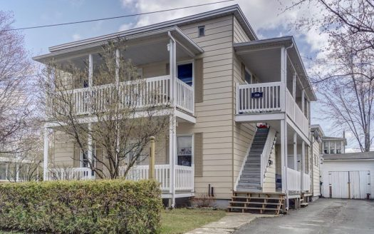 Duplex for sale Magog Flex Immobilier Front elevation