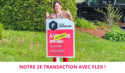 Maison vendue Lac-Mégantic Estrie témoignage satisfaction client Flex Immobilier