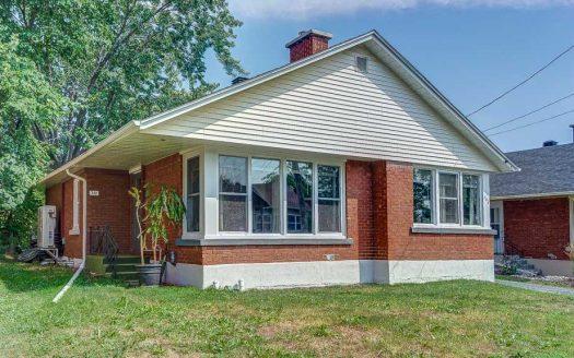 Maison à vendre Sherbrooke-Est Fleurimont Flex Immobilier Élévation avant