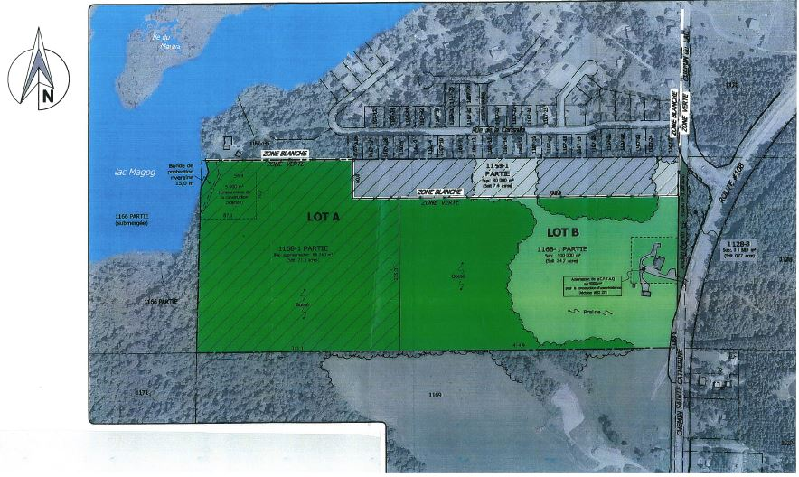 Plan zonage blanc vs zonage vert